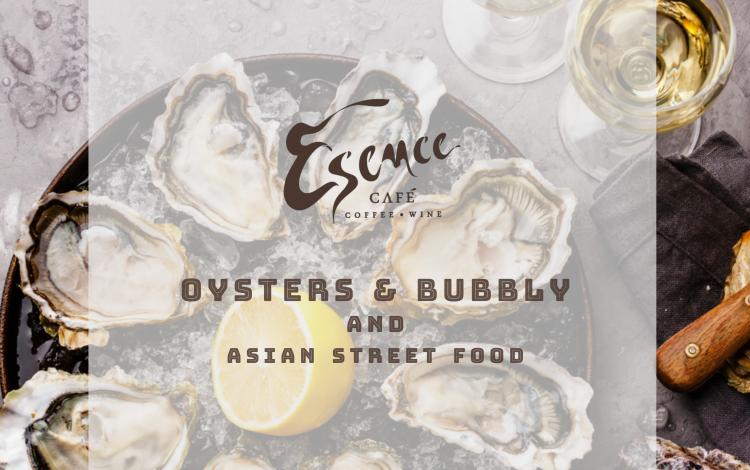 Ústřice & Šampaňské a asijské street food