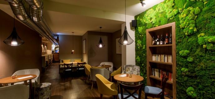 Esence Café - interiér