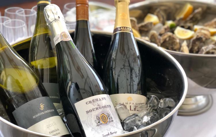 Ústřice & Šampaňské a grilování v asijském duchu